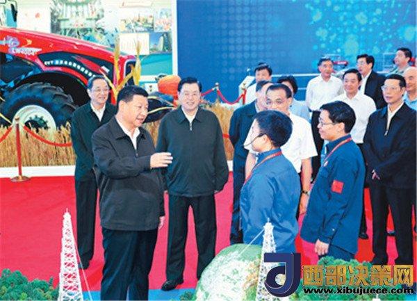 习近平:为实现中华民族伟大复兴的中国