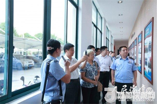 人民论坛融合党建专题调研组走进南通市通州区城管局