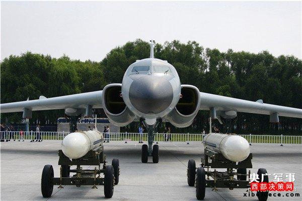 """中国空军""""战神""""轰-6K及其机载导弹"""