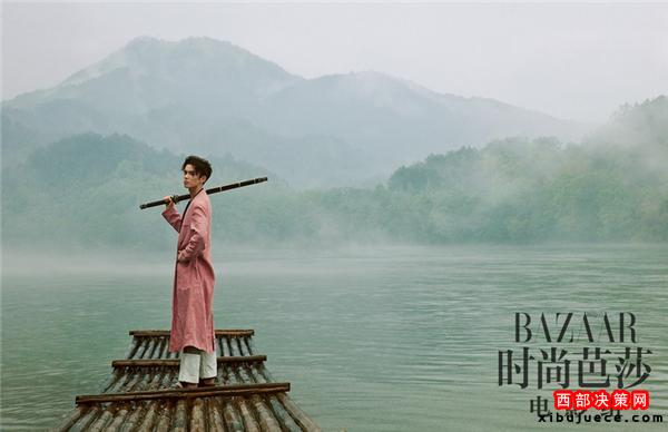 <b>吴磊拍古风写真 实力演绎俊美无双少年郎</b>
