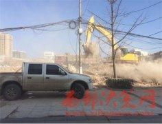 洛南县市政工程现场沙土漫天居民苦不堪言