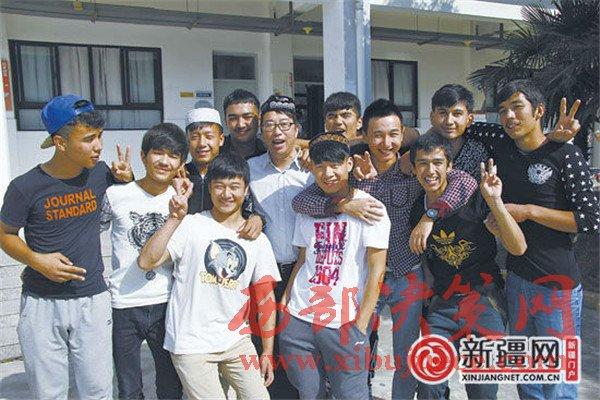 群益职校让386个新疆孩