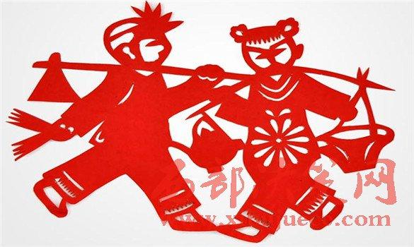 汉族历史悠久的民间艺术――剪纸