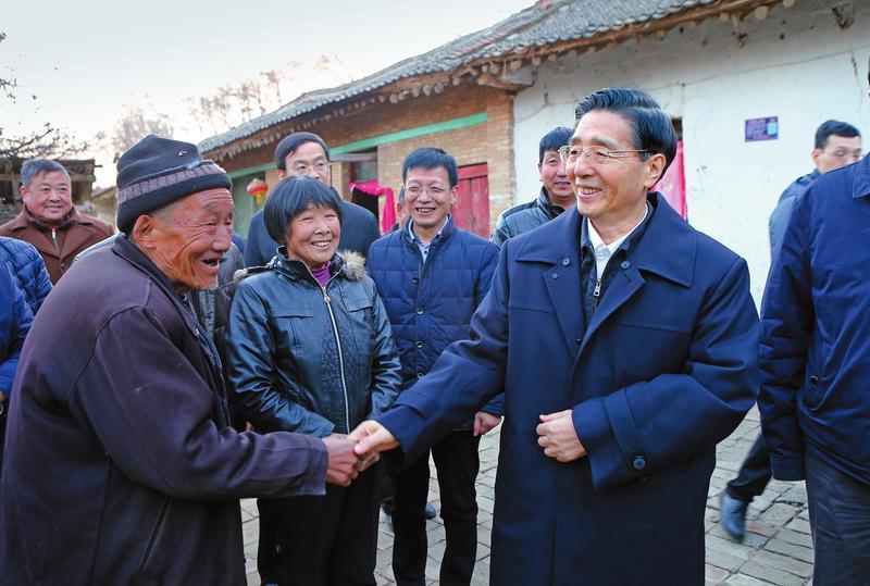 郭声琨在陕西调研时强调 学习贯彻十九