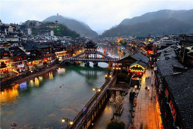<b>凤凰古城---称赞为中国最美丽的小城</b>
