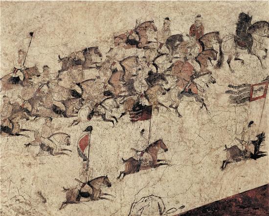 大唐岁月――中国唐代壁画赏析