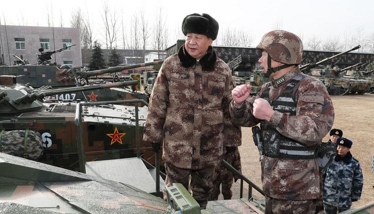习近平:大抓实战化军事训练 聚力打造