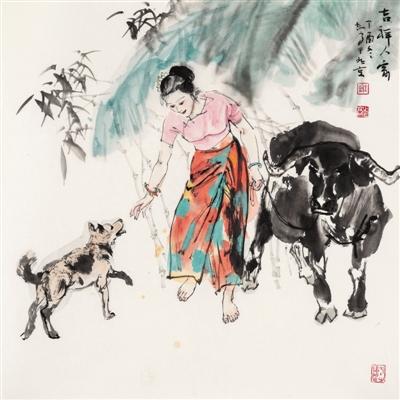 沈鹏韩天衡等艺术名家书画寄新年 致敬新时代