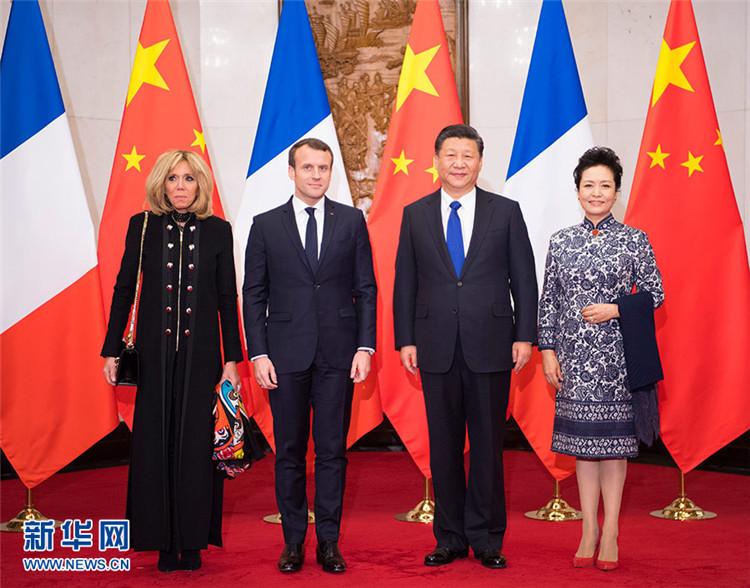 习近平会见法国总统马克龙:新时代中