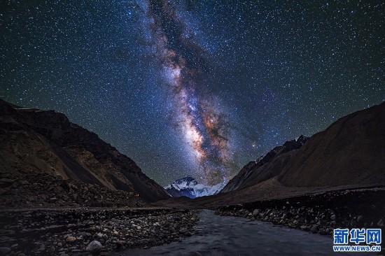 2017喜马拉雅星空摄影展在拉萨举行
