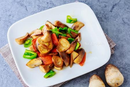 清爽健康的美味:豉油草菇