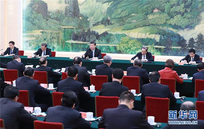 习近平:多党合作要有新气象 思想共识