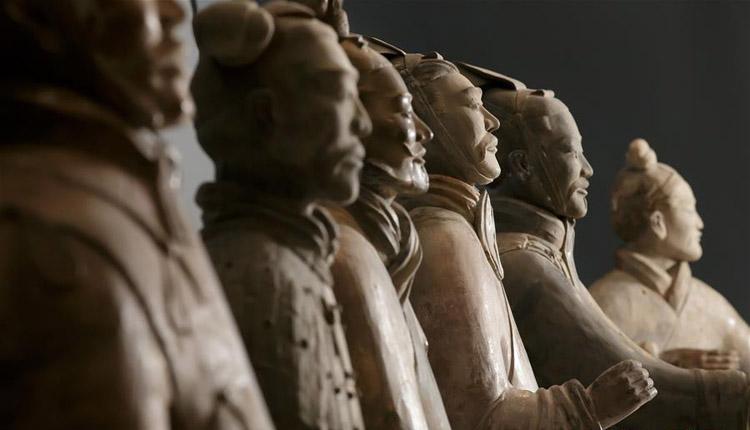 秦始皇兵马俑大型特展在利物浦举行