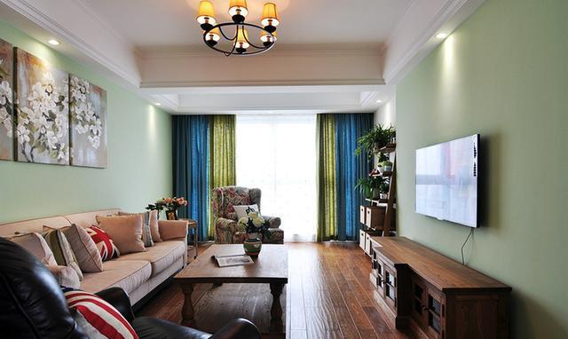 美式小清新家装风格融合豪放派重口味主卫