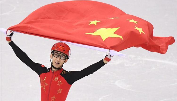 冬奥会丨短道速滑――男子500米:武大靖破世界纪录夺