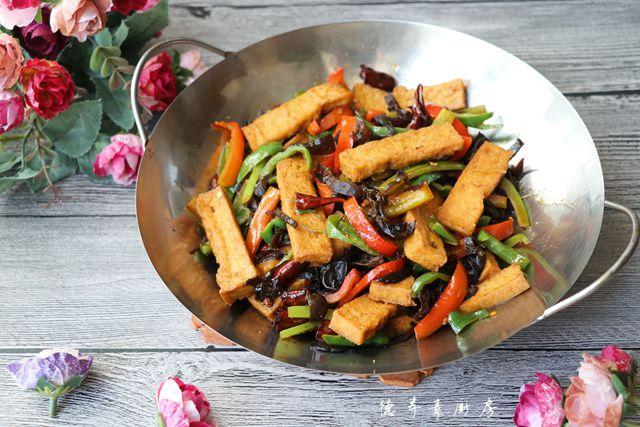 锅仔香辣豆腐的做法