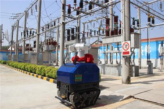 全国首个35千伏变电站智能巡检机器人在汉中城固上岗