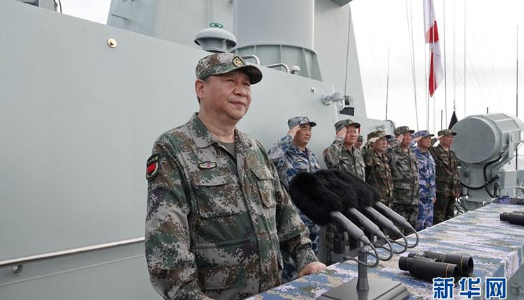 习近平:把人民海军全面建成世界一流