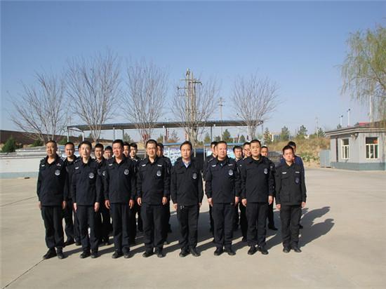 榆林靖边县公安局巡特警大队组织开展2018年春季大练兵