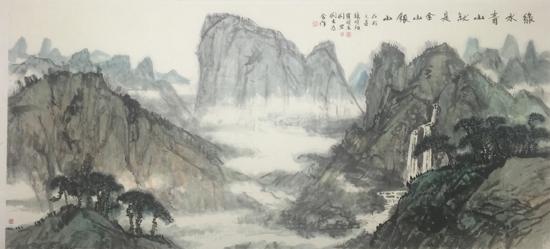 人民网和中国国家画院共同主办美术活动