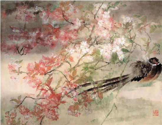 诗意的化境――读张伟民的工笔花鸟画