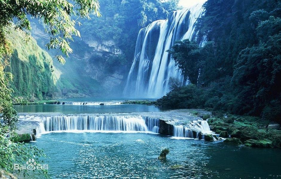 黄果树瀑布(中国贵州省瀑布)