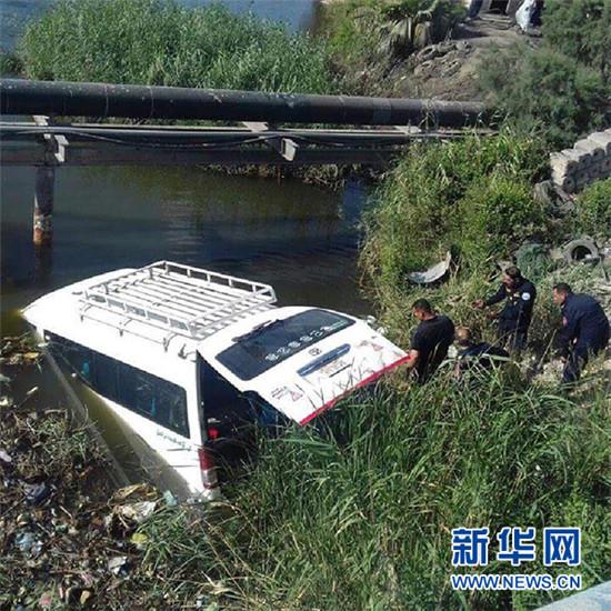 埃及亚历山大以西发生车祸 11名中国游客3死8伤
