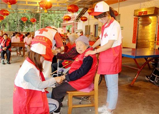 汉中城固县隆重举行陕西省2018红十字博爱周启动仪式