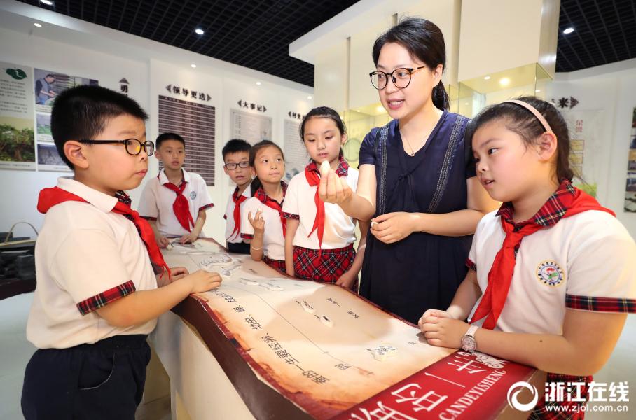 德清:小学生探寻蚕桑文化