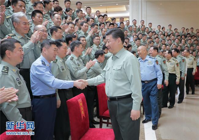 习近平:努力建设高水平军事科研机构