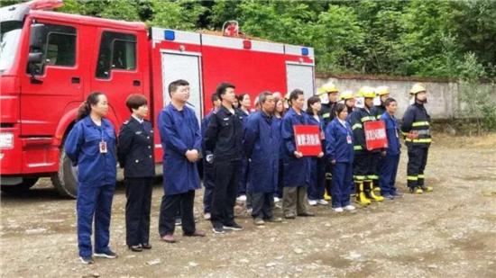 甘肃康县组织多部门开展劣质烟花爆竹集中销毁活动