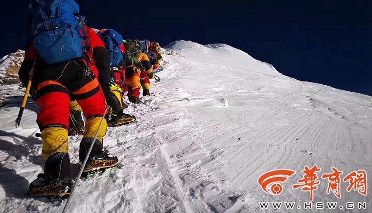 靖边女子登顶珠峰 成陕西第一位从南坡成功登顶珠峰女性