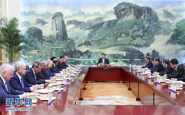 习近平:推动上海合作组织安全合作迈
