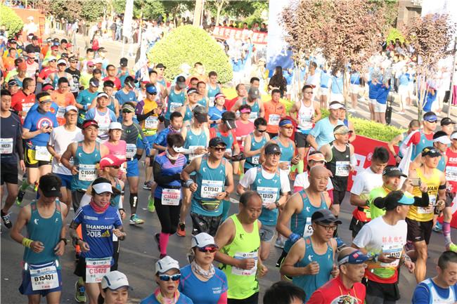 2018兰州国际马拉松开启城市体育运动引领美好生活新愿