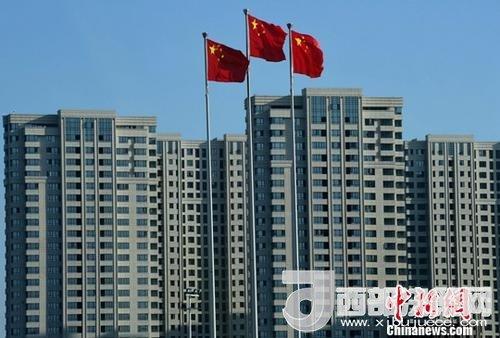 图为福州一处刚建设完工的房地产楼盘。(资料图片) <a target='_blank'  data-cke-saved-href='http://www.chinanews.com/' href='http://www.chinanews.com/'>中新社</a>记者 张斌 摄