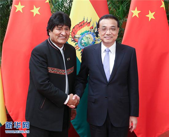 李克强:推动中玻两国关系取得更大的发展