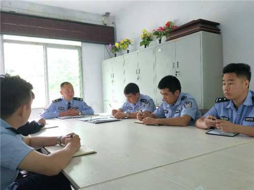 安康紫阳县界岭派出所六项措施加强纪律作风建设