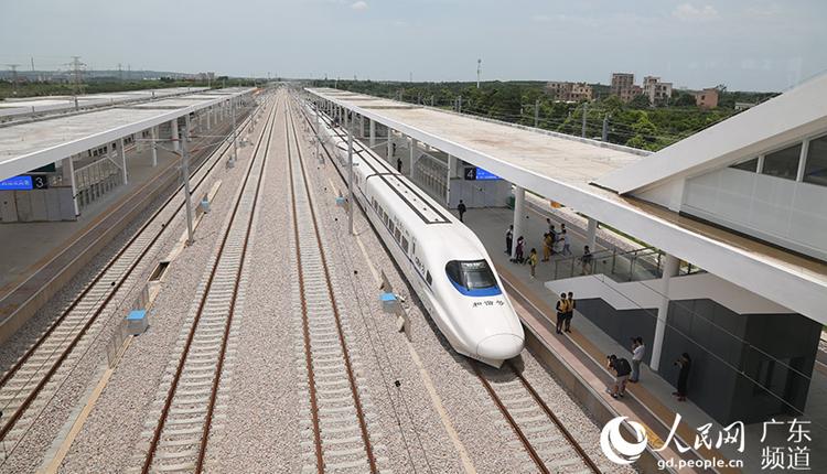 江湛铁路通车在即 广州到湛江只需3个小时