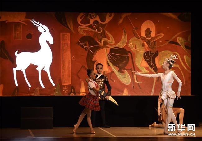 <strong>童话芭蕾舞剧《九色鹿》在京上演</strong>