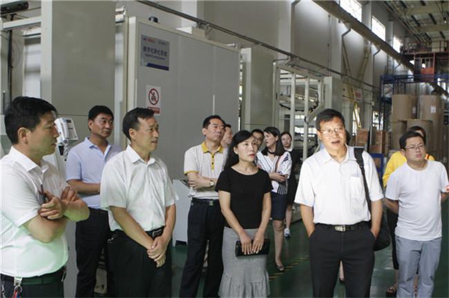 渭南市政协副主席杨文斌一行来高新区调研
