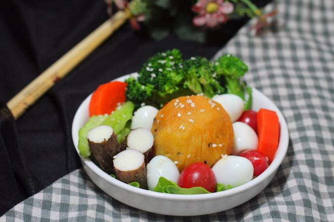 蔬菜红薯茶巾的做法