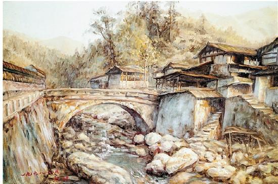 熊明艺术作品欣赏