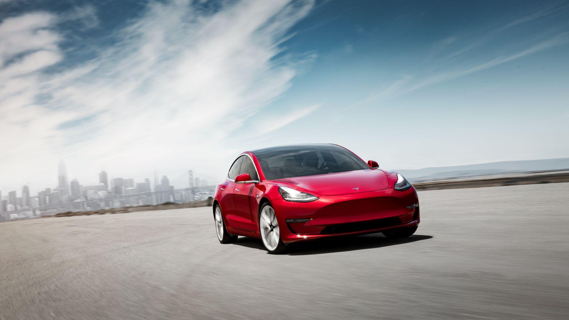 外媒:7月特斯拉Model 3销量有望创单月新高