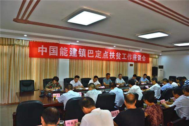中国能源建设集团纪委书记李子勇一行到汉中镇巴专题调