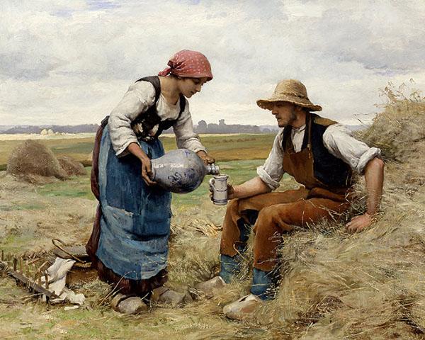 法国巴比松画派裘利恩・杜普荷油画作品欣赏