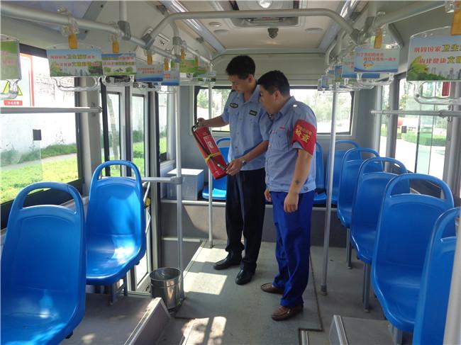 榆林市榆阳公安分局崇文路派出所积极开展公交行业安全
