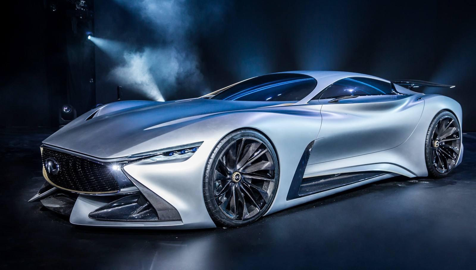 英菲尼迪发布高性能电动化概念车预告 将亮相圆石滩车
