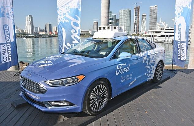 福特计划投资40亿美元成立自动驾驶汽车子公司