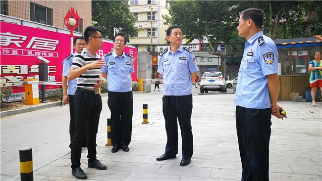 """铜川市王益公安分局创新推出平安智慧小区圆居民""""平安"""