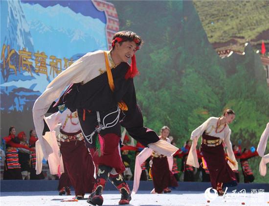 <strong>西藏昌都第四届三江茶马文化艺术节开幕</strong>
